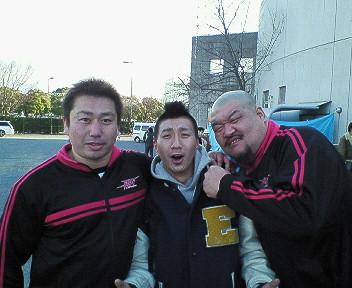 井上兄弟と弁慶さん