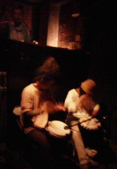 民族楽器のセッション