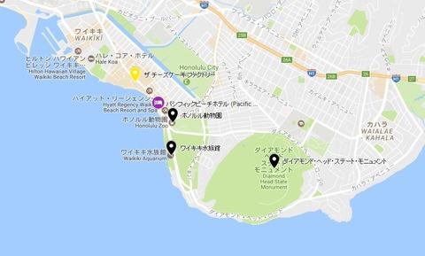 honolulu zoo map