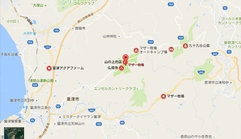 マザー牧場map