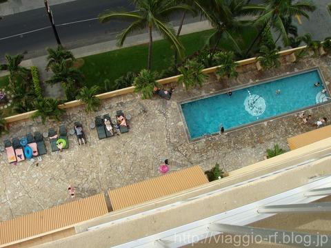 パシフィックビーチホテルのプール_GF