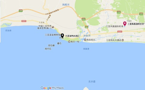 天涯海角map