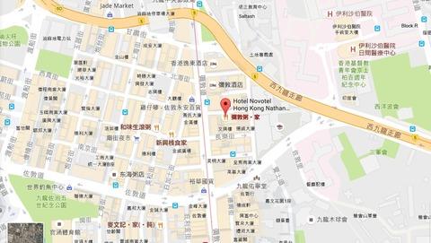 彌敦粥麺家map