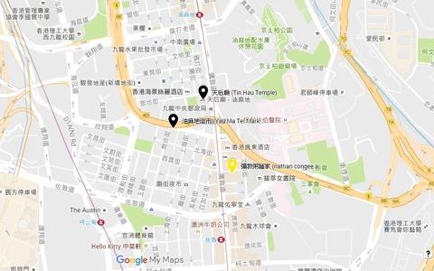 天后廟map
