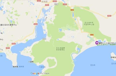 華宇リゾート(旧クラウンプラザ)map