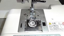 ジャノメミシン(水平釜タイプ)でテープフレンドが使えます。