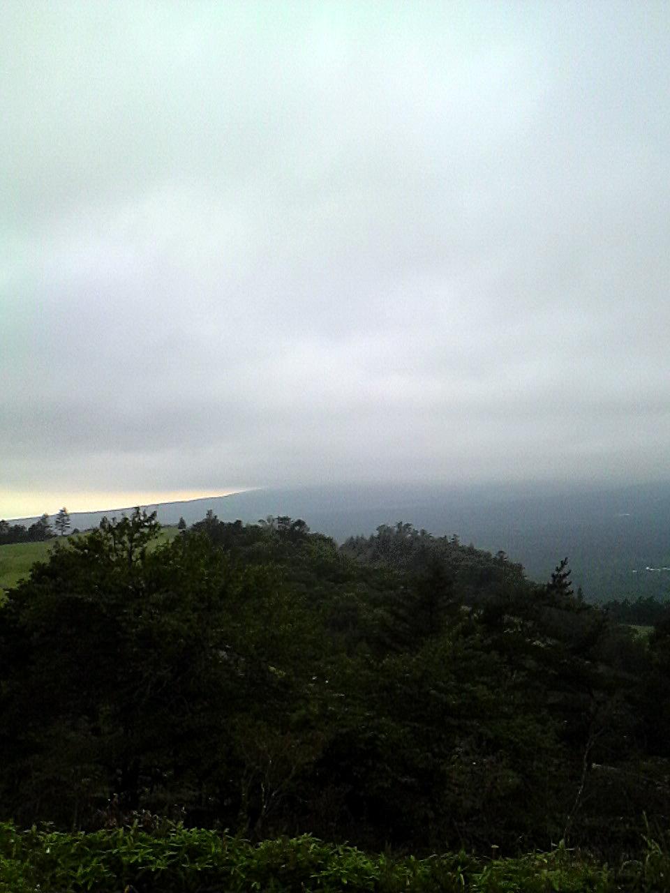 平沢峠から望む清里と八ヶ岳