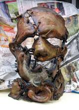 レザーフェイスのレプリカマスク