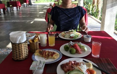 Lang Co Beach resortの朝食