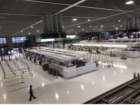 ガラガラ成田空港1124