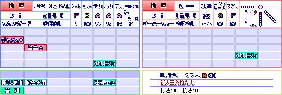新庄パワプロ投手