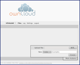ownCloud-addfolder