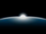 space-sunrise