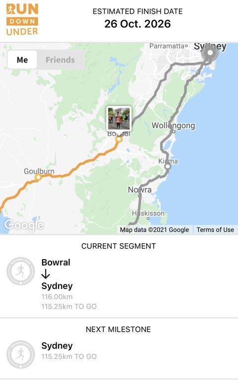 ヴァーチャル・オーストラリア一周〜Bowralに着いたよ