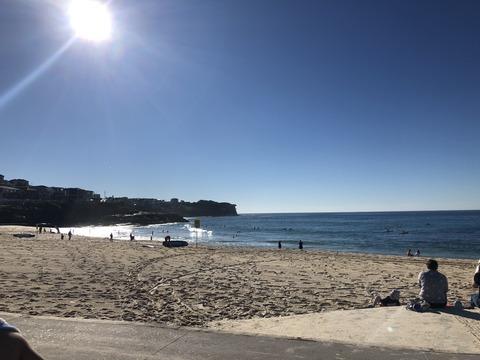 真冬のシドニー 気温23度