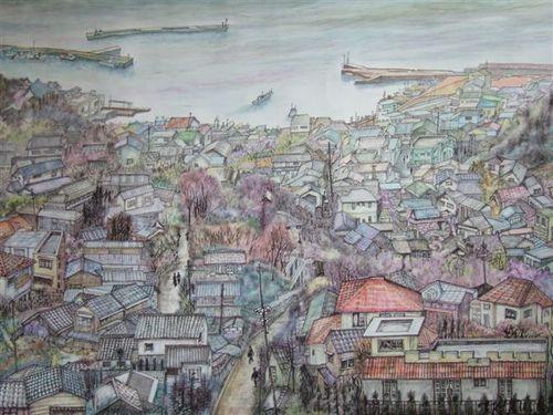 海が見える街