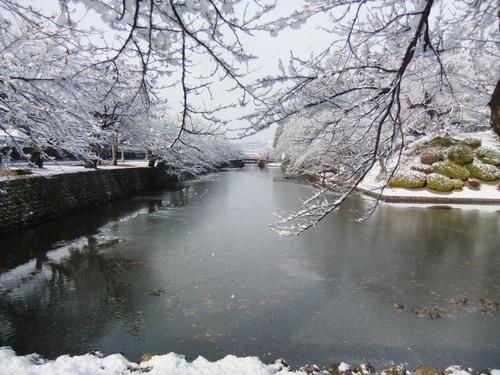 米沢の素敵な雪景色