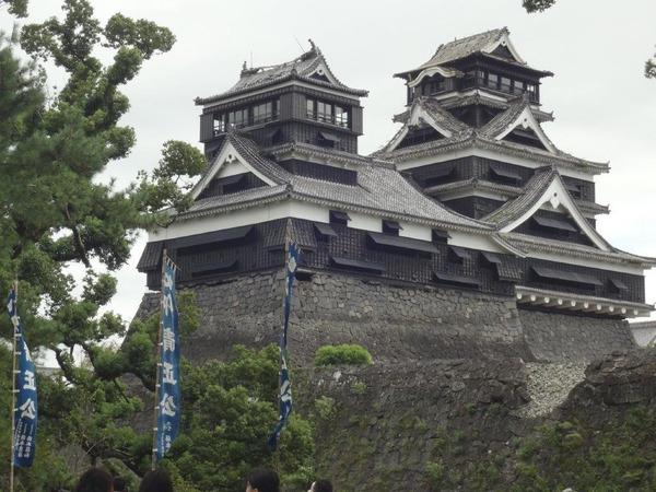 鈴木様の熊本城12月17日