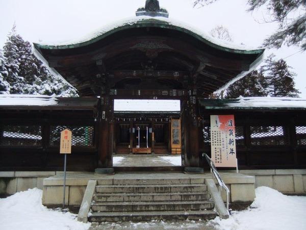 米沢の雪景色6日