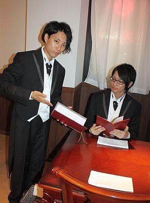 アキバ史上初!イケメン揃いの「執事喫茶」オープン