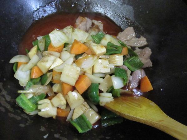 酢豚作り5