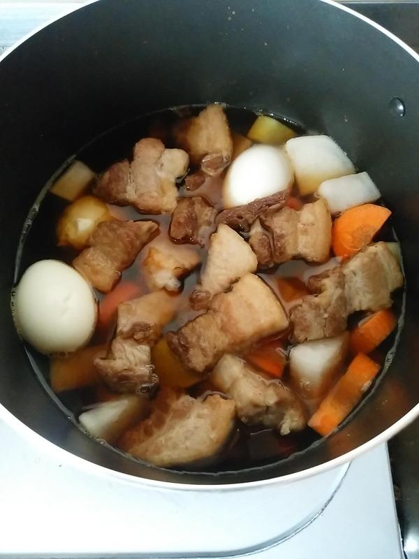豚の角煮作り (6)