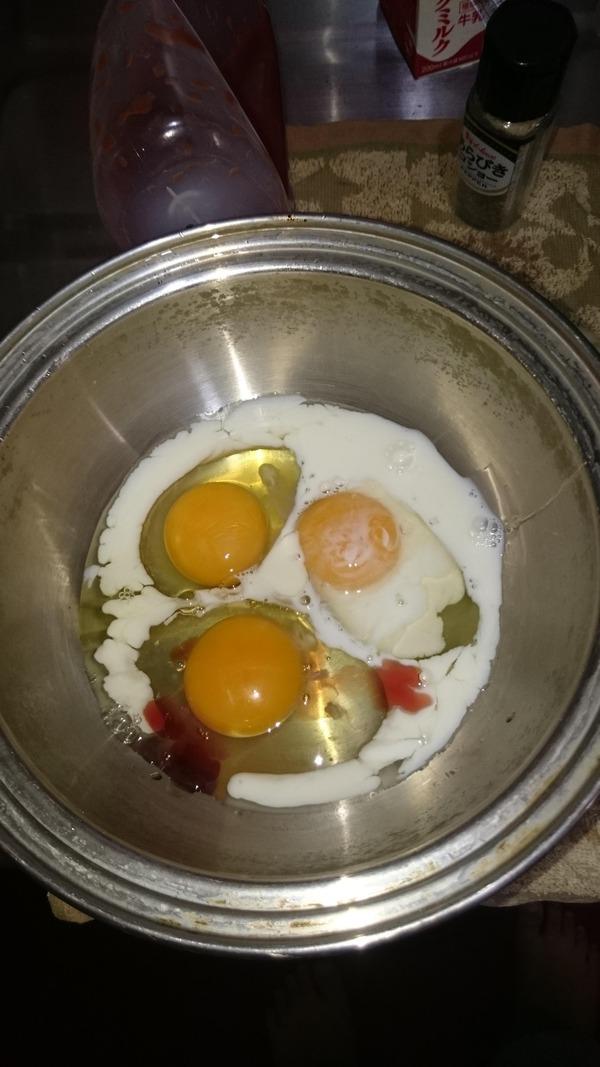 卵、ミルク