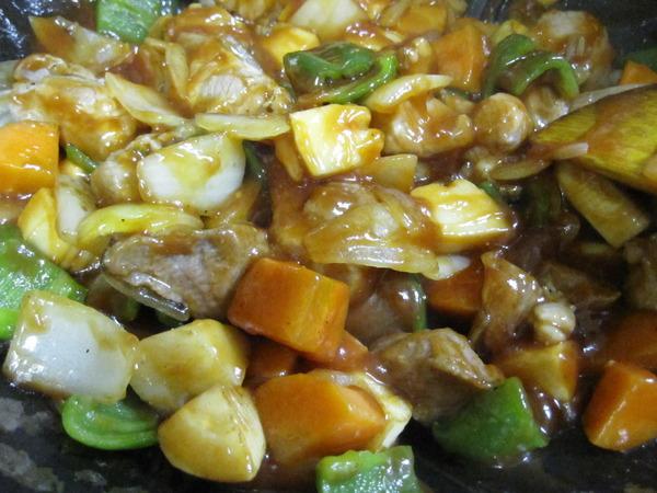 酢豚作り8