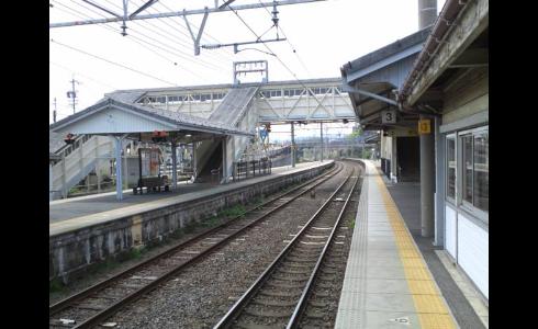 関ヶ原駅ホーム