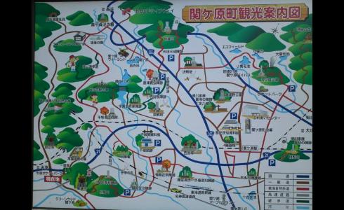 関ヶ原町観光案内図