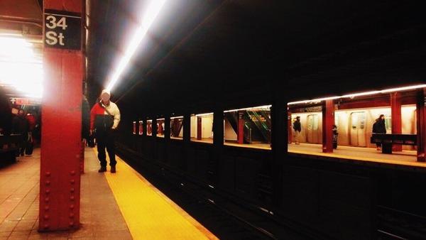 ニューヨーク地下鉄駅