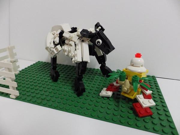 LEGO未、かがみもち