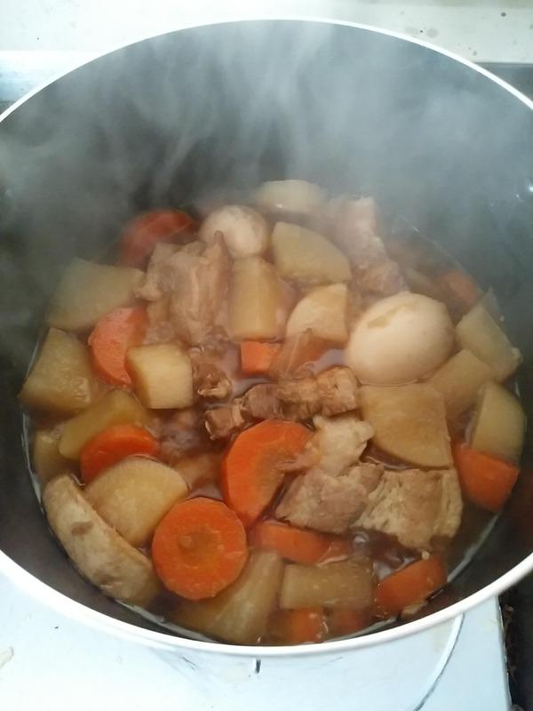 豚の角煮作り (9)
