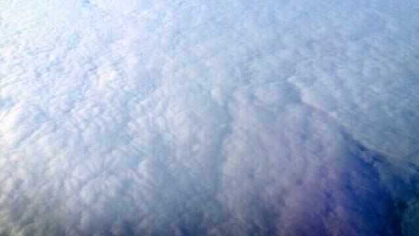飛行機からの景色 (2)