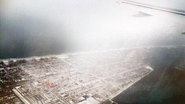 飛行機からの景色 (3)