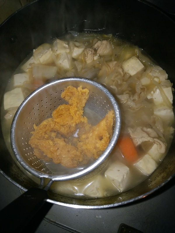 豚汁作り5