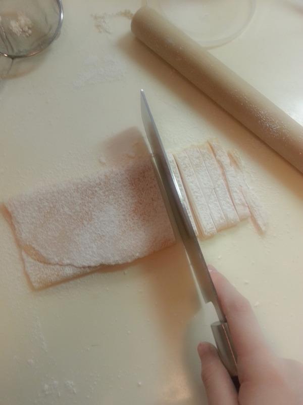 カルボナーラ作り (14)