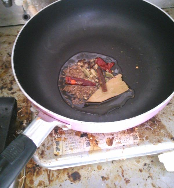インドカレー作り
