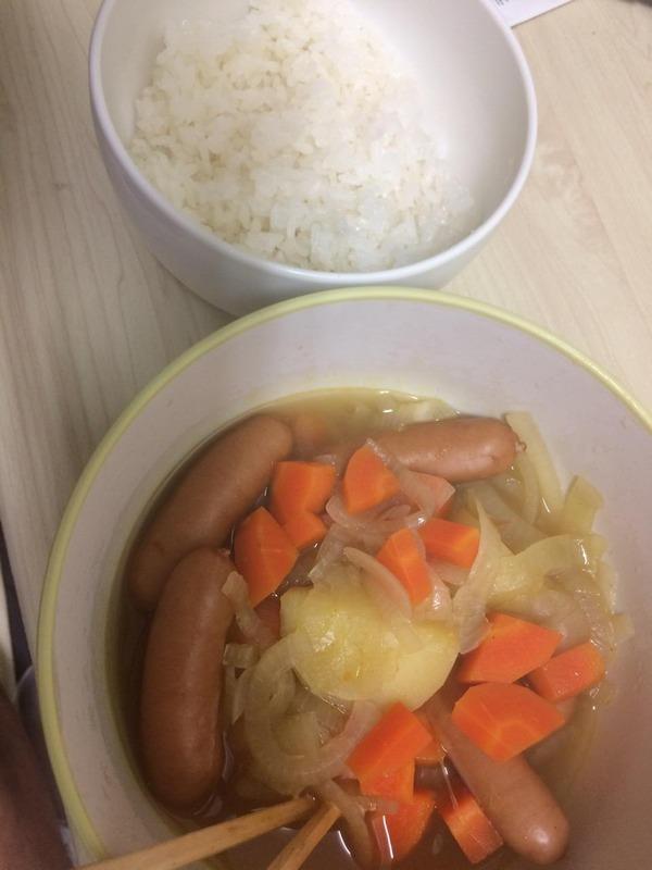 コンソメスープ3
