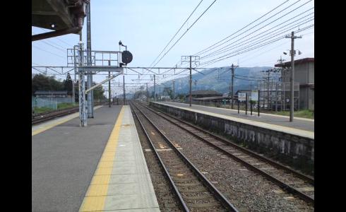 関ヶ原駅ホーム2
