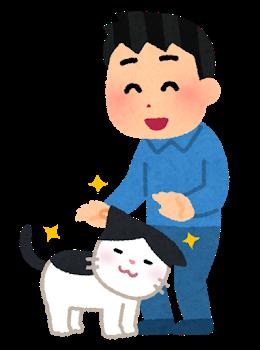 pet_natsukareru_cat_man