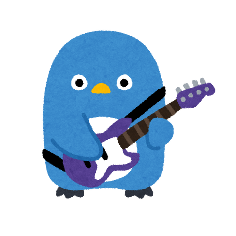 animal_penguin_music_band_bass