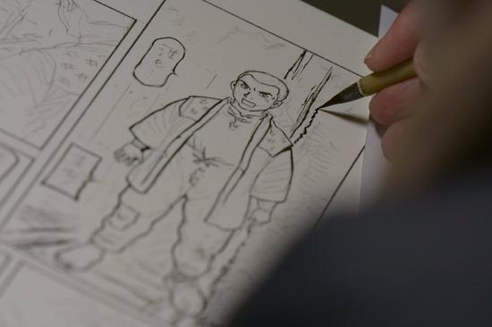 【画像】ワイの4P萌え系漫画、遂に完成www