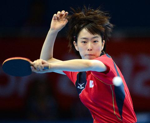 石川佳純選手が銀メダル獲得!