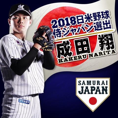 2018日米野球日本代表、微妙すぎる…