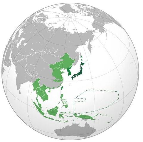 最盛期の大日本帝国の領土
