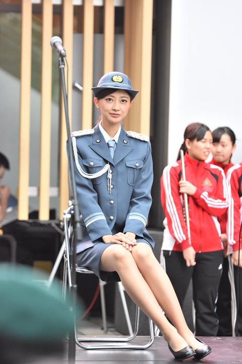 警察界初の女性キャリアがとんでもない美人