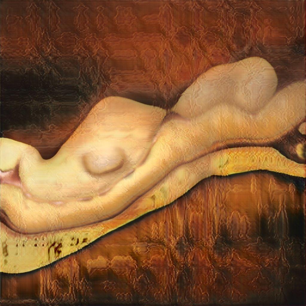 【画像あり】AIが描いた裸の女の絵がエチエチすぎるwwwww