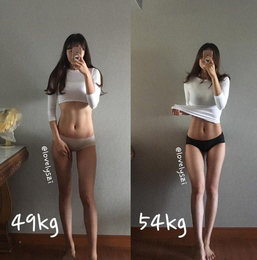 【画像】まんさん「5kg変わると完全に別人になる」