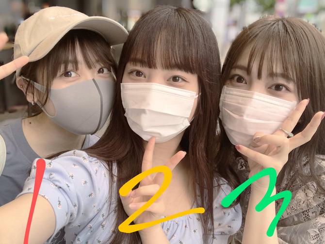 【画像】お前らこのマスク美女3人の中から誰を選ぶ?